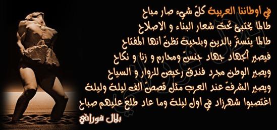 أوطاننا العربية